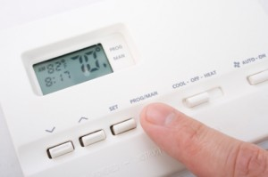image of a programmable thermostat that can be installed to help you save energy in austin texas