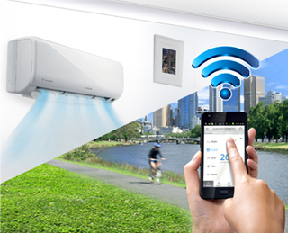 Samsung AC Features Wi-Fi