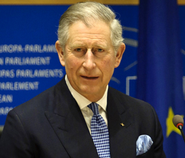 Prince of Wales Helps Farmers Affected by Extreme Weather