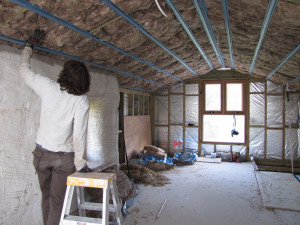 Look for insulation gaps