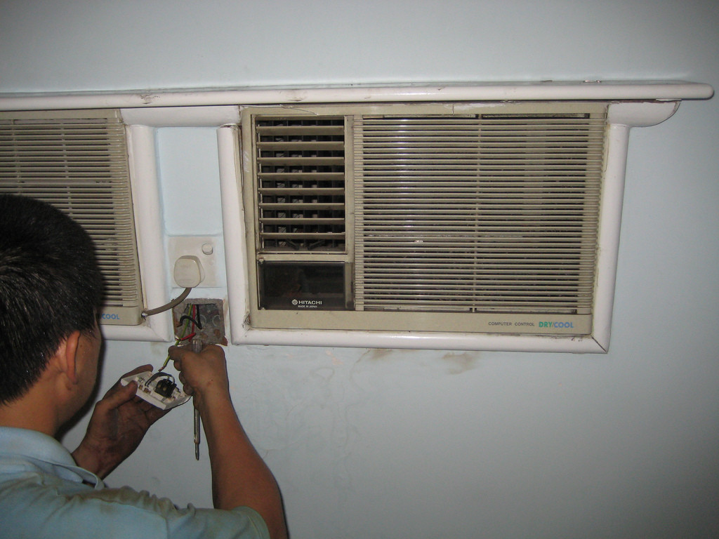 AC thermostat repair.
