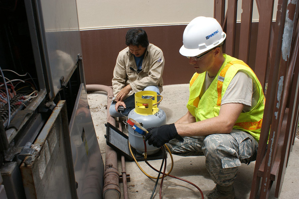 NAVFAC Hawaii HVAC Specialists - Public Works Week