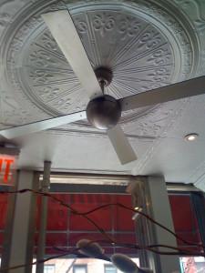 Ceiling fan...