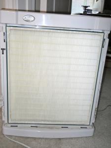 New air filter...