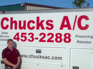 Chucks AC Repair staff member in Austin Texas, Matthew